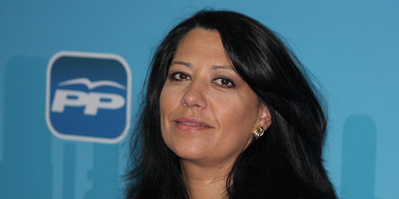 Carolina Hernández. (Foto: PP) - Carolina_Hernandez_portavoz_de_la_Comision__de__Agricultura__en_las_Cortes_Regionales