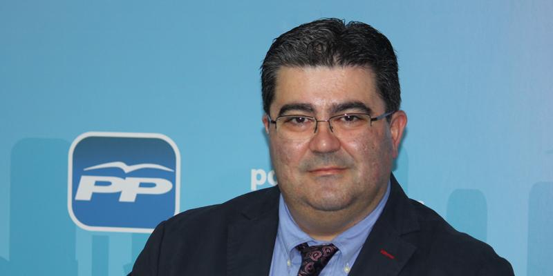 Javier Guzmán. - Javier_Guzman_candidato_del_PP_a_la_Alcaldia_de__Yebes