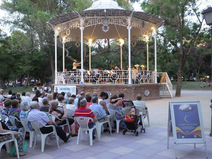 La Banda de Música de la Diputación ofreció su primer concierto en Las Noches son para el Verano