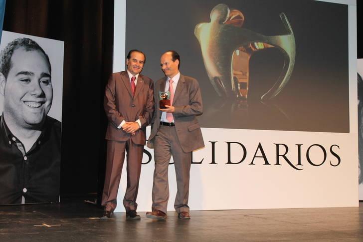 """Gregorio en los premios de la ONCE pone en valor la labor de todos los premiados en clave solidaria """"siendo un ejemplo a seguir"""""""