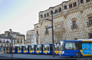 Los viajeros del autobús urbano aumentaron un 4,58% en julio