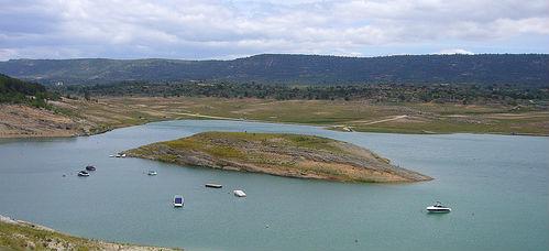 Desciende el volumen de agua en los embalses de cabecera del Tajo, al 14,5% de su capacidad