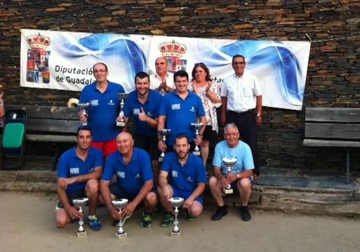 Iriépal se hizo con el título del XXVIII Campeonato de Bolos Castellanos