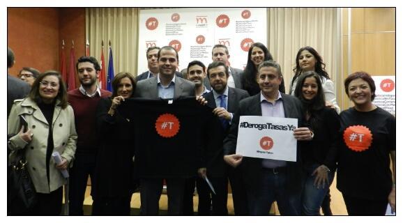 Ciudadanos (C's) Guadalajara recibe en la Diputación Provincial a la plataforma Manifiesto por la Justicia #T el próximo 29 de julio