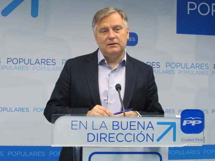 """Cañizares: """"El PSOE de Page y Podemos solo se preocupan del reparto de cargos, como estamos viendo con la designación del tercer senador autonómico"""""""
