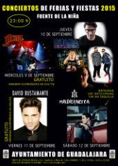 Bustamante, M-Clan y Maldita Nerea, conciertos estrella de las Ferias y Fiestas