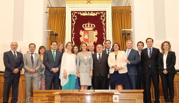 Constituido el Parlamento de Castilla-La Mancha tras la toma de posesión de sus 33 diputados