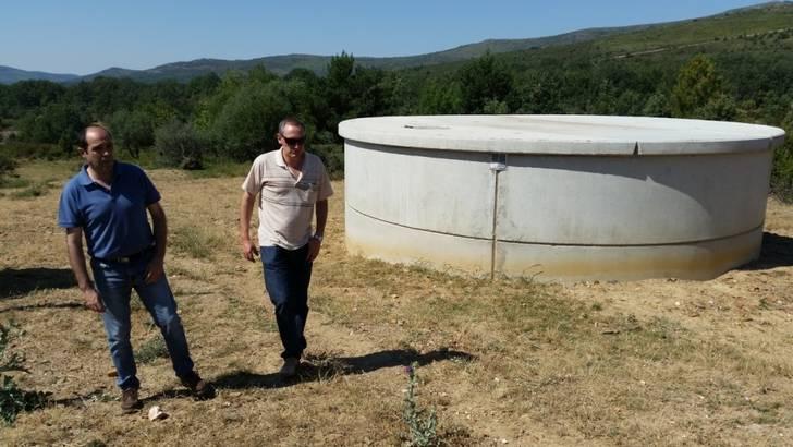 La Diputación habilita un nuevo depósito de abastecimiento de agua en El Ordial