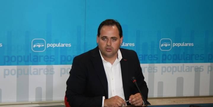 """Núñez advierte que """"Page quieren elevar una cortina de humo"""" en el Pleno de las Cortes regionales de este jueves"""