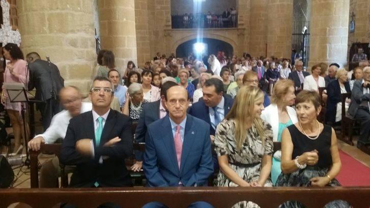 El subdelegado del Gobierno en Guadalajara participa en la festividad de la Santa Cruz en Albalate de Zorita
