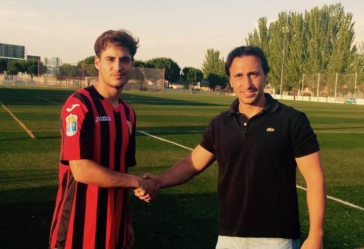 Jorge Rojas, un joven refuerzo para la media punta del Club Deportivo Azuqueca
