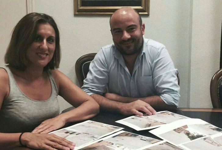 La diputada de Ciudadanos se reúne con el alcalde de Viana de Jadraque