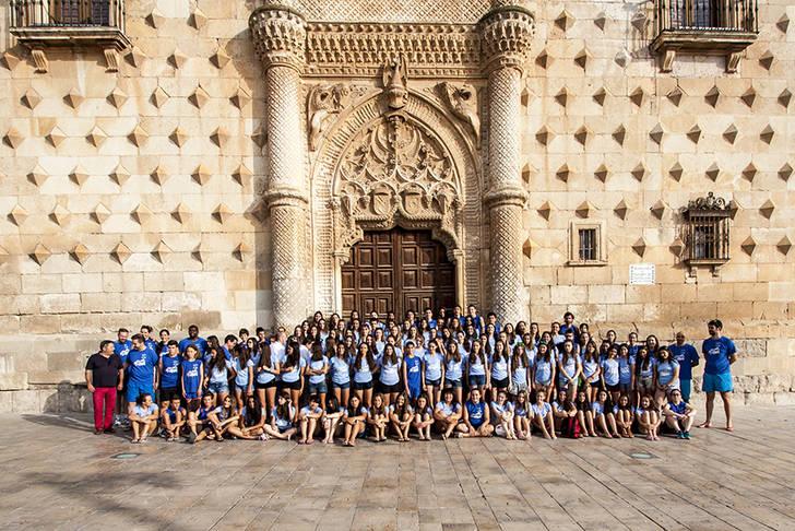 Cerca de 500 chavales participan en el Campus de Voleibol en Guadalajara