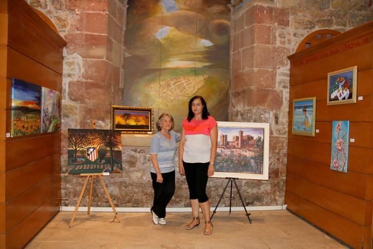 Los pintores noveles de Sigüenza exponen su obra en la Ermita del Humilladero