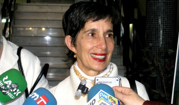 Blanca Calvo, en la lista a las generales de Podemos
