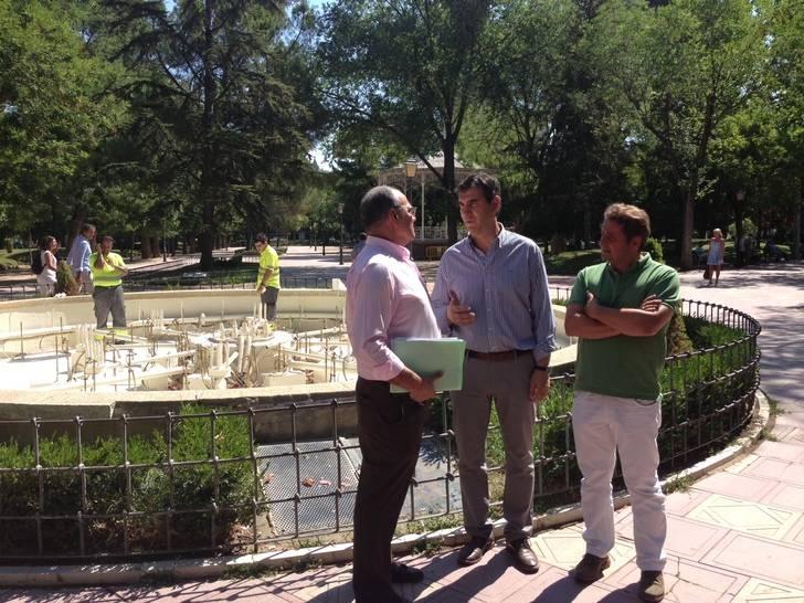 El Ayuntamiento rehabilitará la fuente ornamental de La Concordia