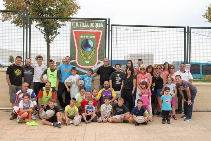 El club de Rugby de Guadalajara convocó una jornada de iniciación en Quer