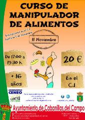 El Centro Joven de Cabanillas organiza un curso para obtener el carné de manipulador de alimentos
