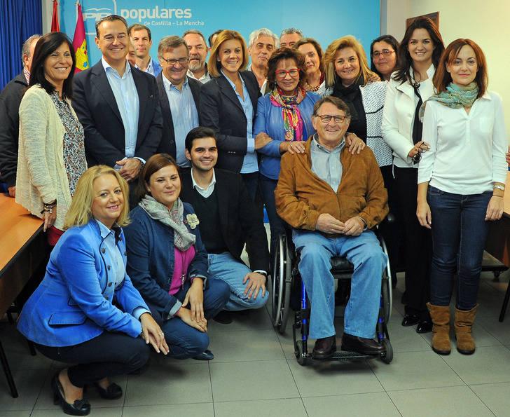 """Cospedal : """"Yo estoy en Castilla-La Mancha y pienso seguir en Castilla-La Mancha aunque le pese a algunos"""""""