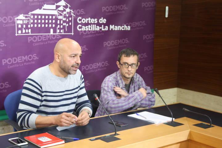 Podemos pide 'para ya' una reforma del Estatuto de Castilla-La Mancha
