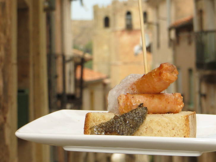 El Certamen de pinchos medievales llena Sigüenza durante el fin de semana