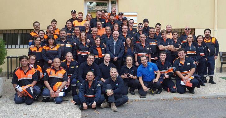 Más de 420 voluntarios de Protección Civil reciben durante este año la formación básica en Castilla La Mancha