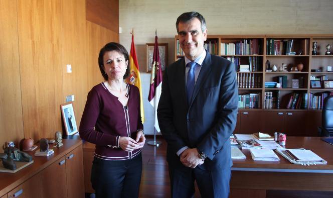 La consejera de Educación y el alcalde de Guadalajara reiteran la necesaria colaboración y lealtad institucional para desarrollar proyectos en común en beneficio de la ciudad