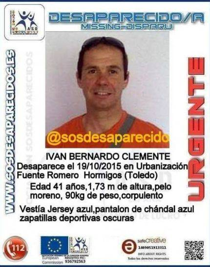 La Guardia Civil busca a un hombre de 41 años desaparecido hace una semana en Toledo