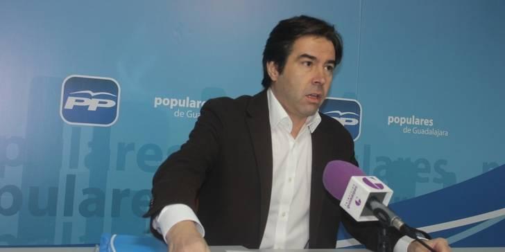 """Robisco: """"Las dos consejeras de Guadalajara de Page no han estado a la altura y han demostrado que no defienden a la provincia"""""""