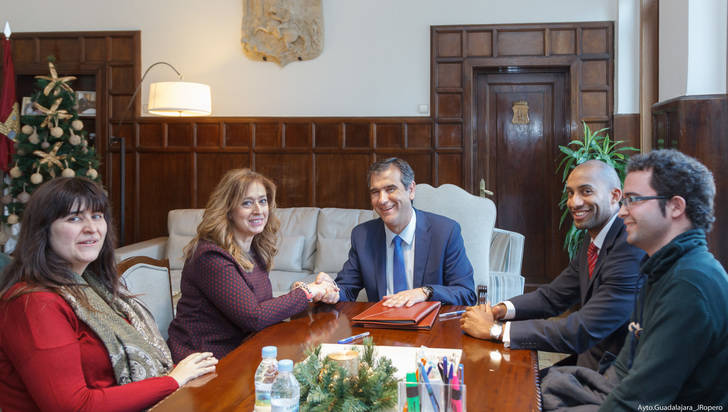 El Ayuntamiento de Guadalajara colabora con 10.000 euros con la Asociación de la Prensa de Guadalajara