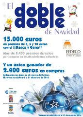 """FEDECO presenta la campaña """"El doble, doble de Navidad"""""""