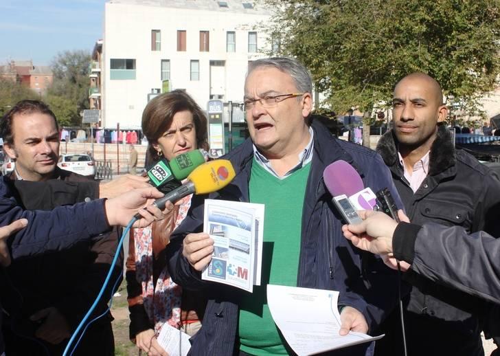 """De las Heras: """"Hasta que Page no diga claramente que no se va a modificar el convenio sanitario con Madrid, el PP va a continuar con su campaña informativa"""""""