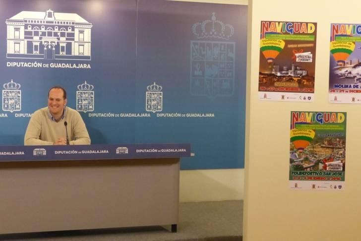 La Diputación vuelve a organizar el NAVIGUAD solidario en Molina de Aragón, Sigüenza y Guadalajara