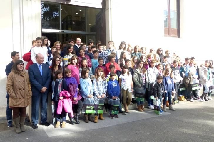 Un centenar de niños asisten al I Foro por la Participación Infantil organizado por la Diputación y Unicef