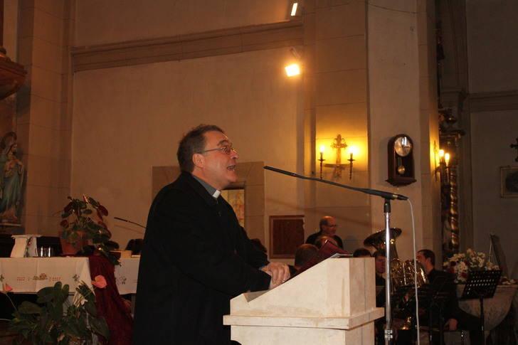 Jesús de las Heras ha pregonado la Navidad en Sigüenza