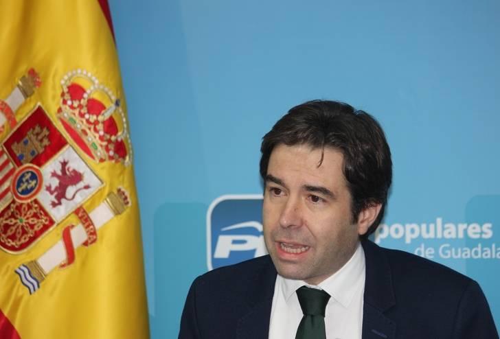 """Robisco: """"Espero que Page haya venido a Azuqueca a anunciar que la universidad se va a quedar en el centro de Guadalajara y que no se va a tocar una sola coma del convenio sanitario con Madrid"""""""