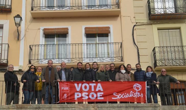 """Riansares Serrano dice en Mondéjar que el PSOE es el único partido que """"garantiza la Sanidad y la Educación·"""""""