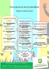 El Espacio Joven de Marchamalo continúa con actividades en el mes de diciembre de miércoles a domingo
