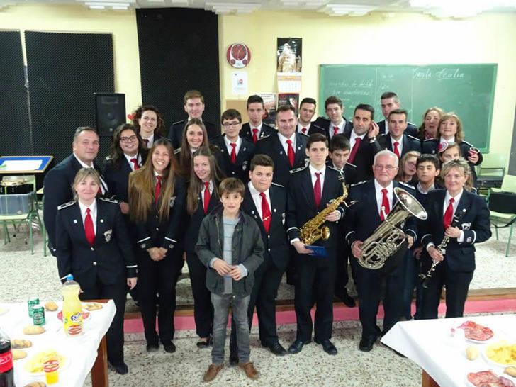 La Asociación Musical Jadraqueña celebró Santa Cecilia con dos nuevas incorporaciones a la Banda de Música