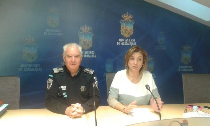 La Policía Local de Guadalajara realizó un total de 152.124 servicios