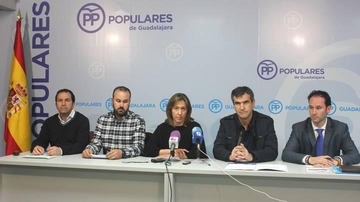 El PP presenta a Luis García, Benjamín Marián y Juan Pedro Camarillo como candidatos a las alcaldías pedáneas de Iriépal, Usanos y Taracena
