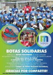 El Dépor colabora con Botas Solidarias