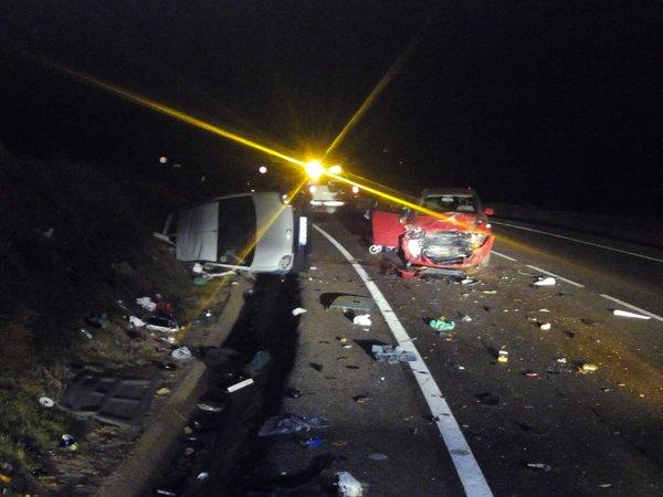 Accidente de tráfico en El Casar con cinco heridos, dos de ellos niños