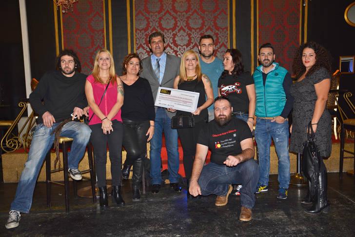 La solidaridad motera llega desde Asturias a la Fundación del Hospital Nacional de Parapléjicos