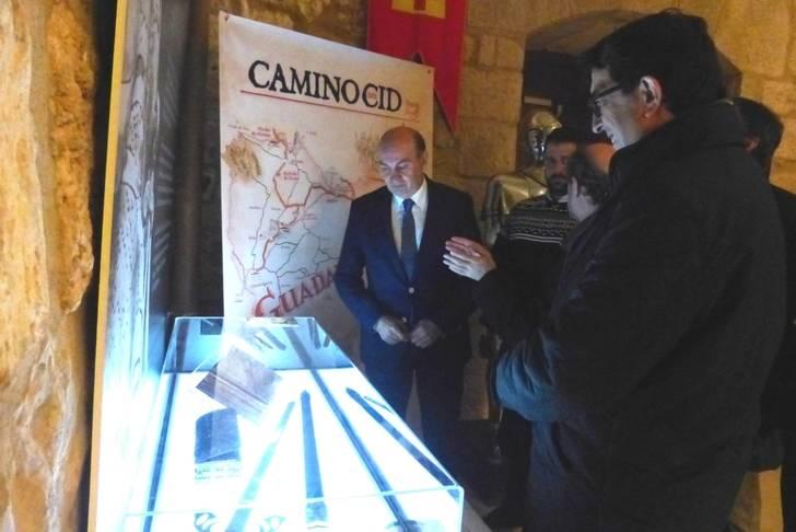La Diputación habilita un espacio dedicado al Camino del Cid en el castillo de Torija