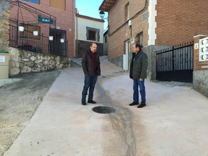 La Diputación lleva a cabo obras de renovación de redes en Henche, Valderrebollo, Alaminos y Las Inviernas