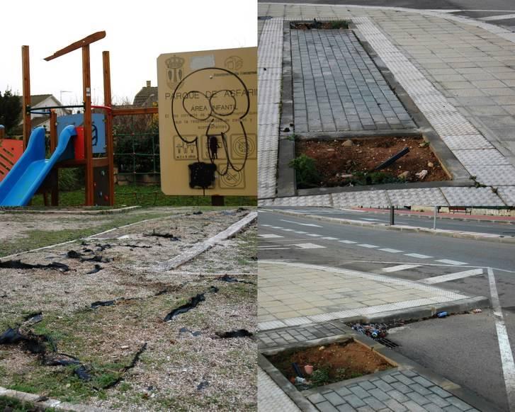 El PP de Azuqueca denuncia el abandono sistemático que padece el Barrio de ASFAIN en sus calles y en sus dos parques