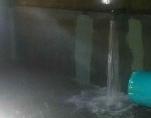 La Concejalía de Obras de Jadraque lleva a cabo la limpieza de los depósitos de agua del municipio