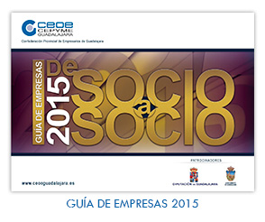 CEOE-CEPYME Guadalajara prepara la novena edición de la guía de empresas de socio a socio