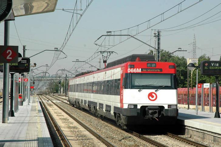 Imagen de archivo de la estación del tren de Azuqueca de Henares. Fotografía: Álvaro Díaz Villamil/ Ayuntamiento de Azuqueca de Henares